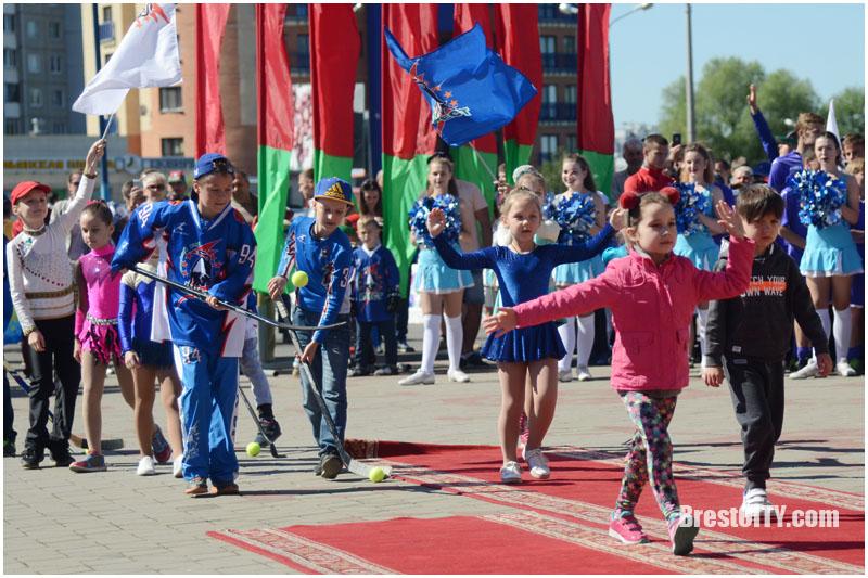 Олимпийский день в Бресте 3 июня 2017