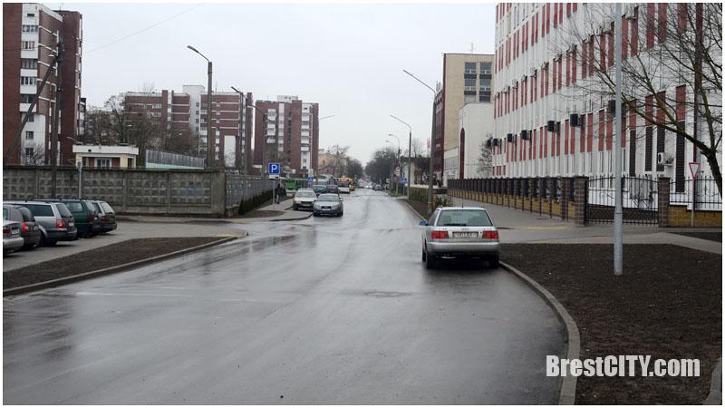 Проезд возле Газоаппарата в Бресте. Фото BrestCITY.com