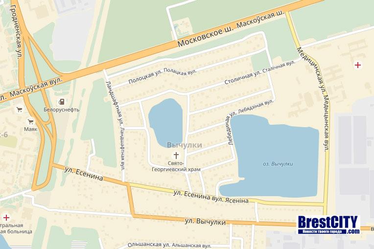 Озеро в Вычулках в Бресте. Утонул мужчина
