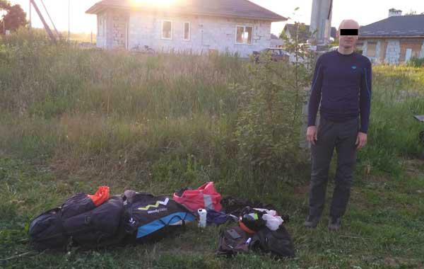 Парапланерист из Польши залетел в Беларусь