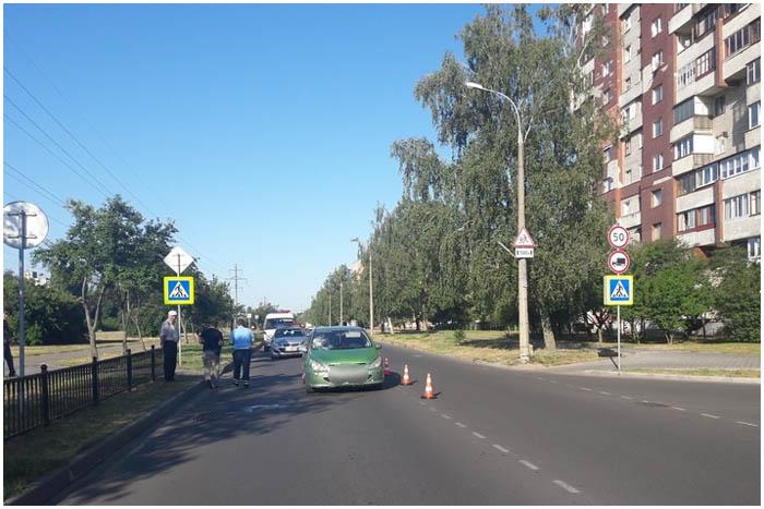 Водитель Пежо на Орловской в Бресте сбил женщину