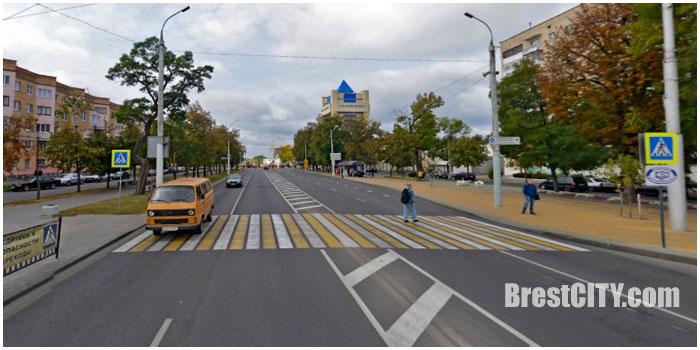 Закрыт пешеходный переход возле косметологии