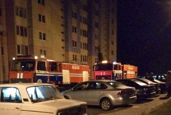 В Пинске с 7 этажа выбросился хозяин