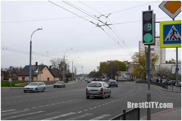 Улица Пионерская в Бресте. Фото BrestCITY.com