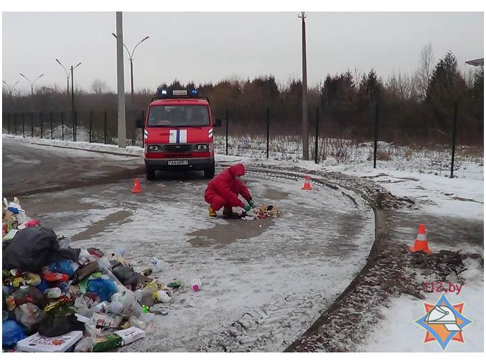 Радиационный подгузник нашли на мусороперерабатывающем заводе