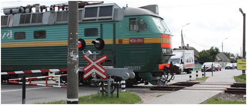 Поезд сбил велосипедиста