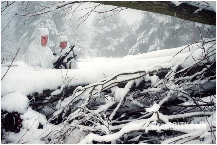 Пограничники зимой