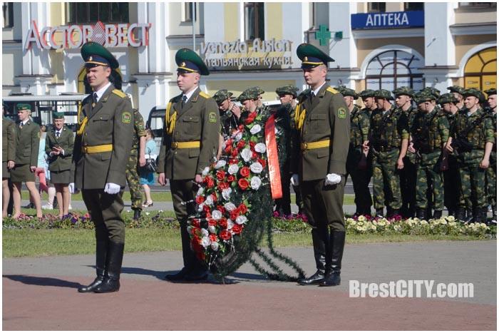 День пограничника в Бресте 28 мая 2017