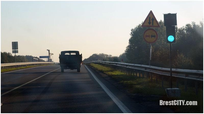 Пробка бульковский мост