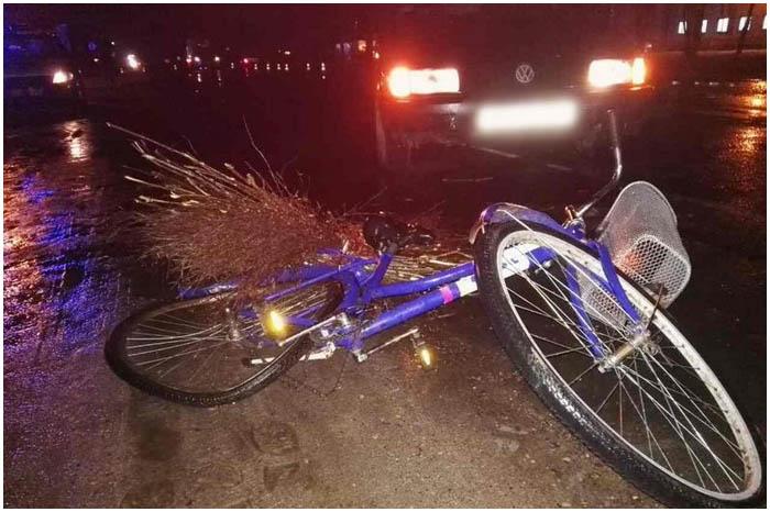 В Пружанах насмерть сбили велосипедиста
