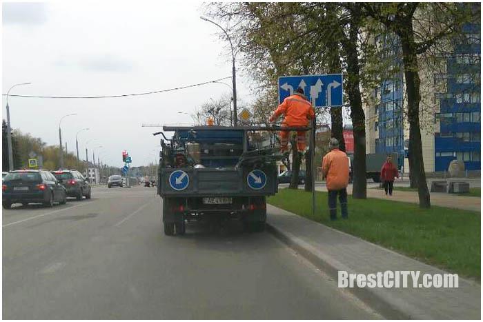 Изменения на перекрестке Ленина-Машерова