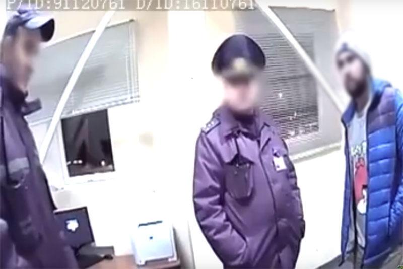 На границе задержан гражданин с опасным психотропом. Пытался убежать (видео)
