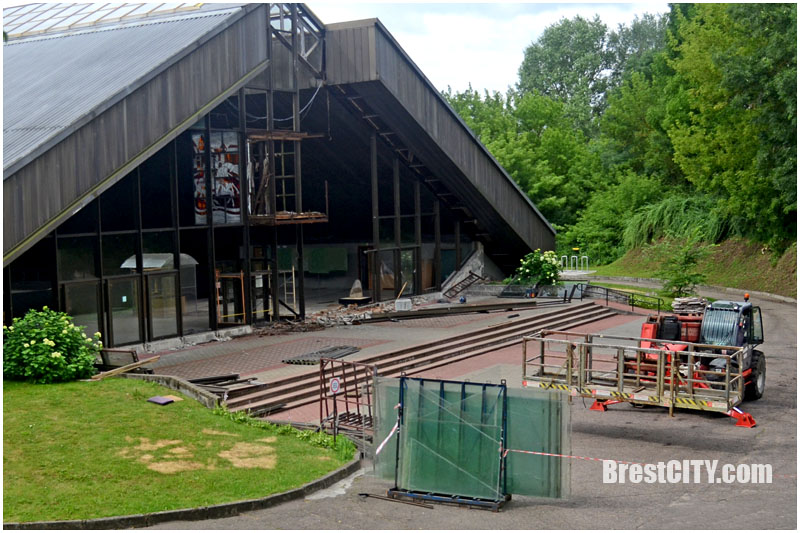 Музей Берестье в Бресте закрыт. Ремонт
