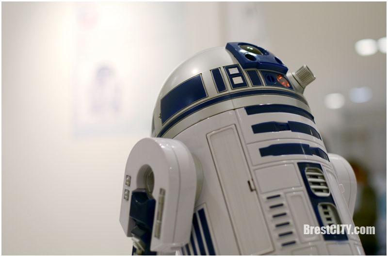 Выставка роботов в Бресте