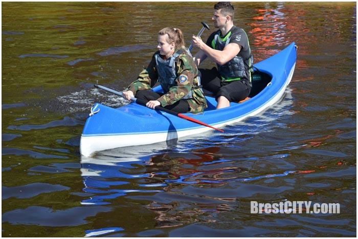 Турслет на озере Селяхи в Брестском районе