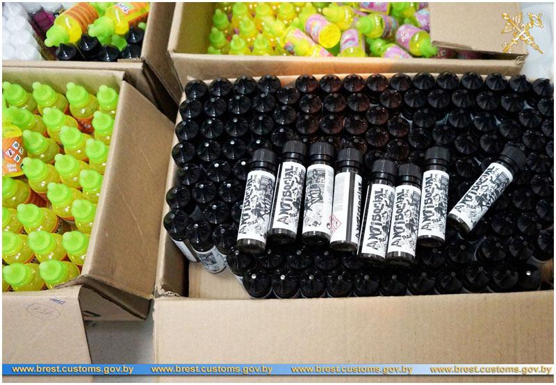 Флаконы и канистры для заправки электронных сигарет