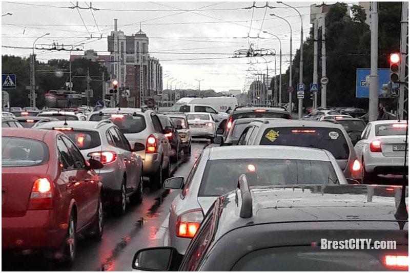 Авария с участием скорой в Бресте 20 августа 2017