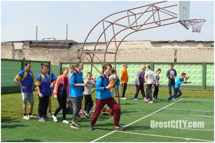 Соревнования в средней школе №17 города Бреста