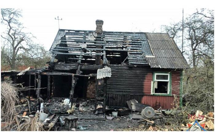 Спас пенсионера на пожаре в Брестском районе