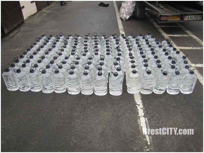 700 литров спирта для собственных нужд