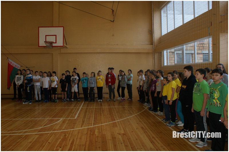 Соревнования в 28 школе Бреста