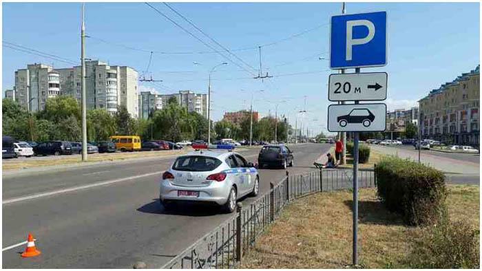 Авария на Суворова в Бресте 19 августа 2017