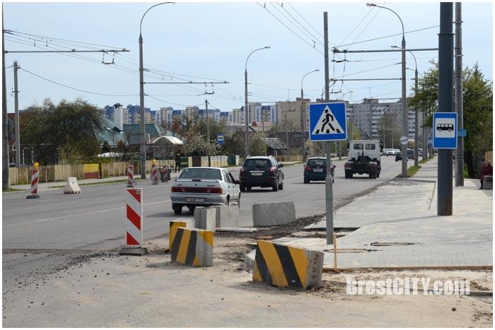 Кольцо на перекрестке Суворова-Журовецкая в Бресте