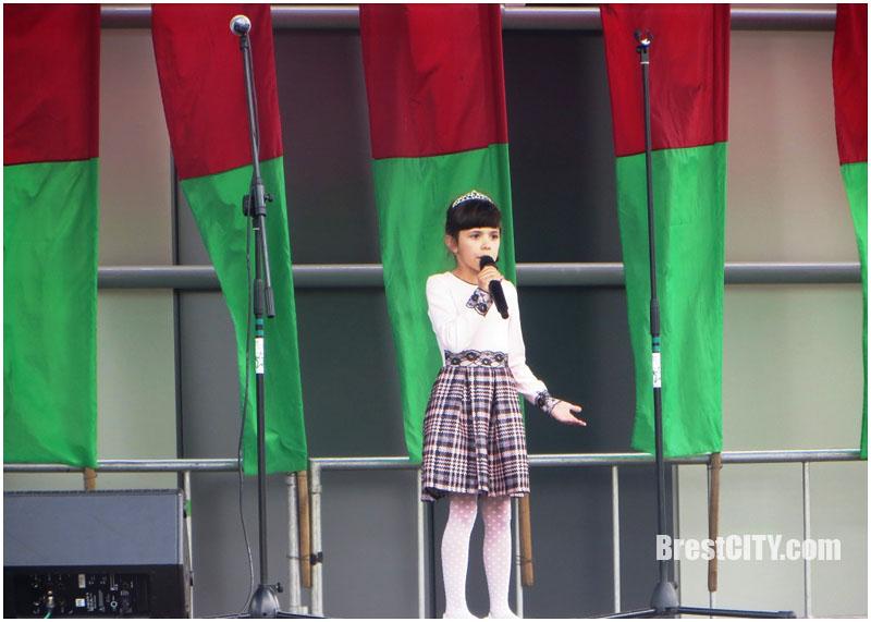 Праздник ко Дню независимости в ТРЦ Экватор в Бресте