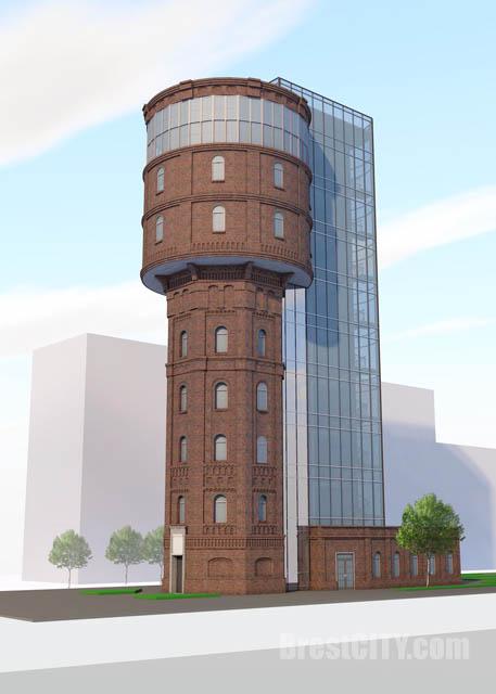 Что будет в водонапорной башне возле автовокзала в Бресте
