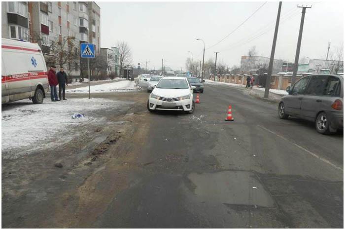 На улице Мошенского в Бресте сбили женщину