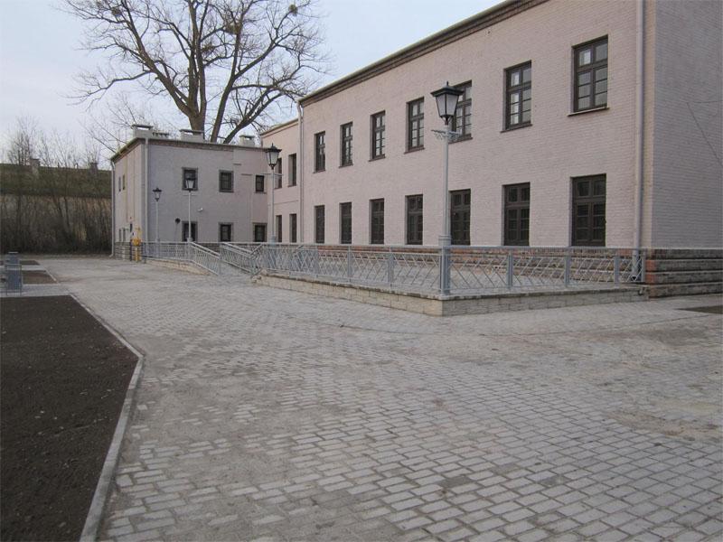 Трилинка в Брестской крепости