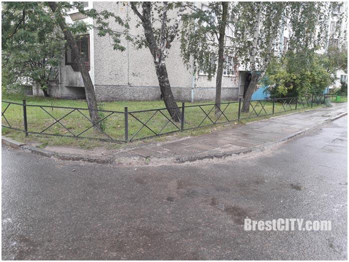 Плохие тротуары