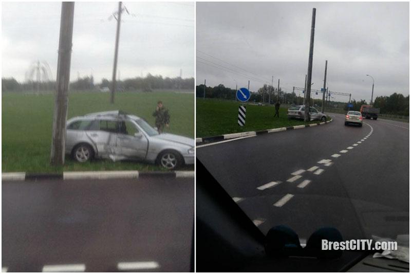 Авария на варшавке в Бресте 21 сентября 2017