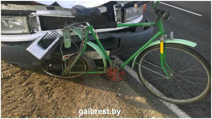 Смертельный наезд на велосипедиста в Жабинковском районе