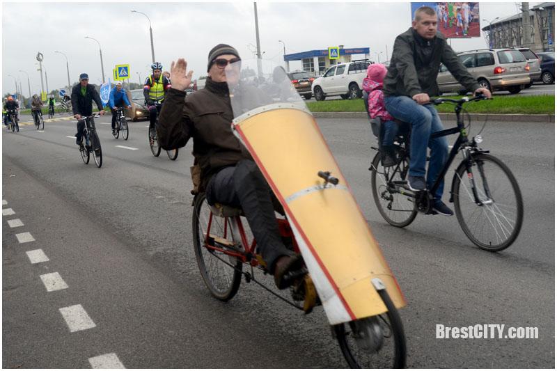 Велопробег в День без автомобиля