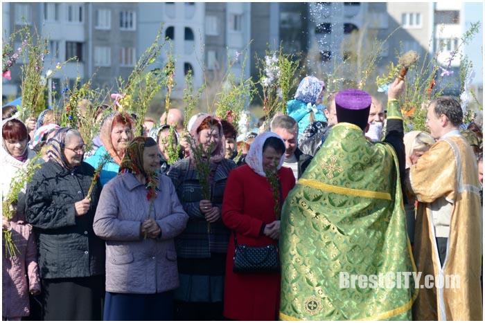 Вербное воскресенье в Бресте. Фото BrestCITY.com
