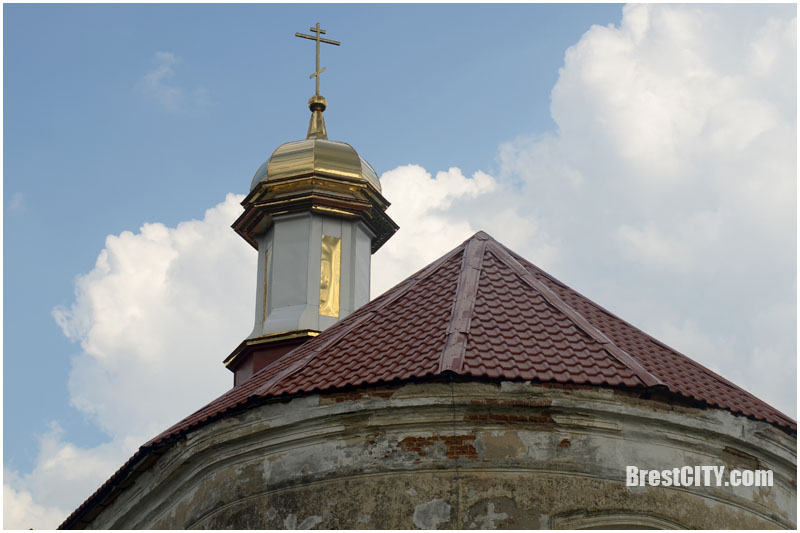 Вистычи. Церковь Крестовоздвиженская