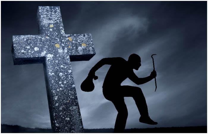 Кладбищенский вор