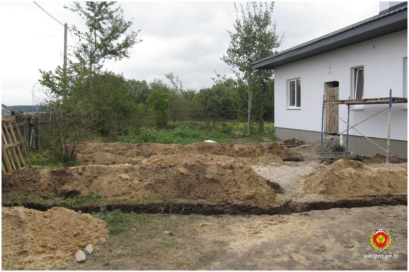 Костные останки в деревни Ямно