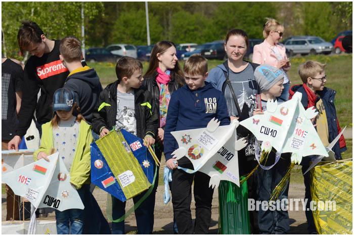 Фестиваль воздушных змеев в Бресте 6 мая 2017. Фото BrestCITY.com