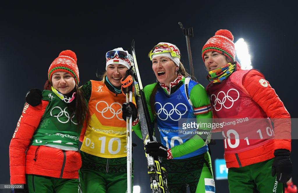 Второе золото Олимпиады-2018. Белорусские биатлонистки победили в эстафете