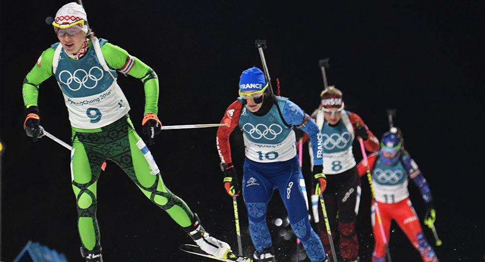 Олимпиада-2018. Биатлон. Домрачева выиграла серебро в масс-старте