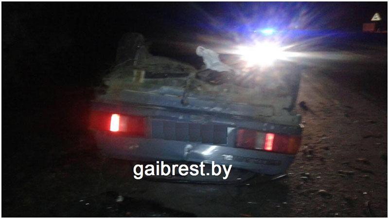 Авария в Березовском районе