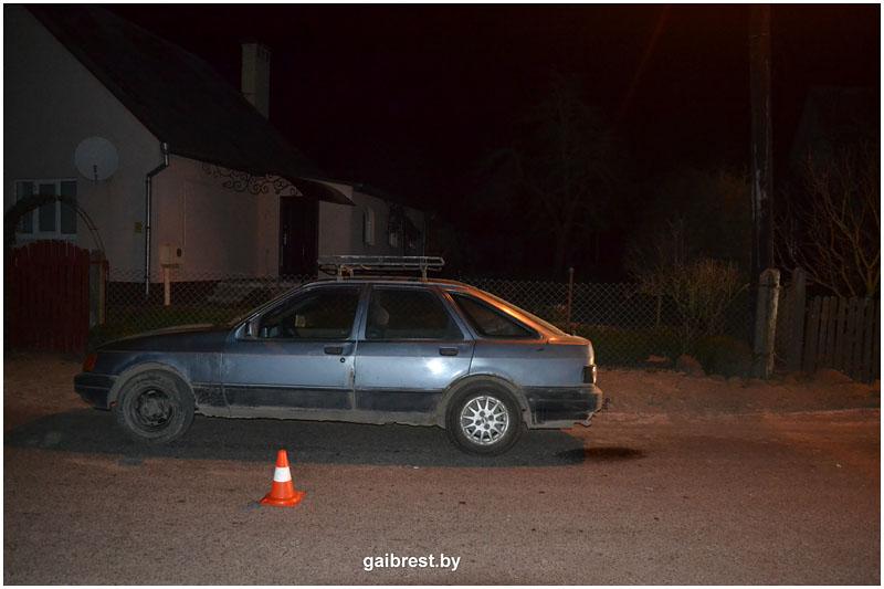 Авария в деревне Нехолсты