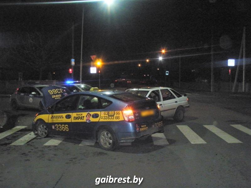 Авария 7 января Пионерская-Пушкинская в Бресте