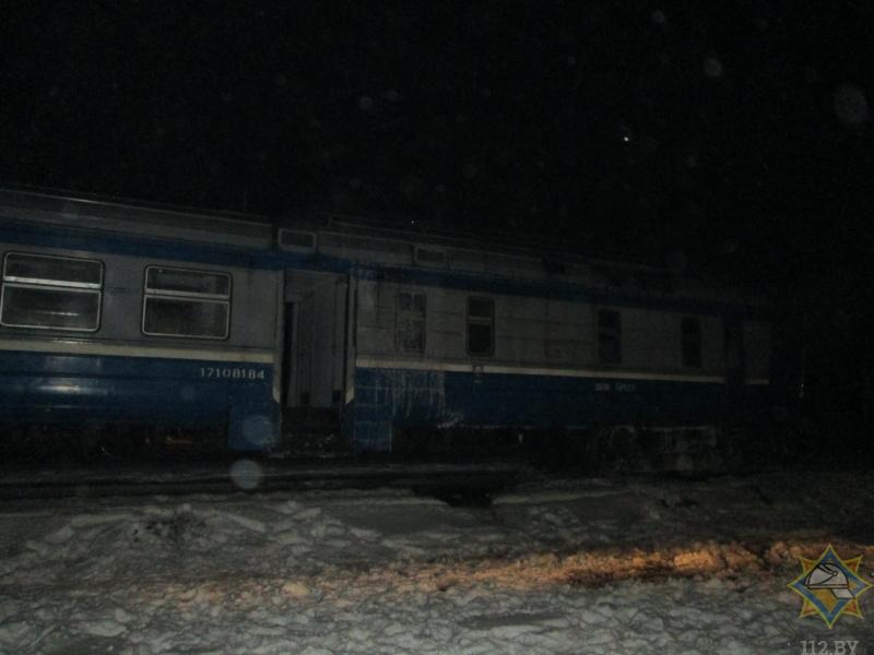 Пожар в поезде Брест-Пинск