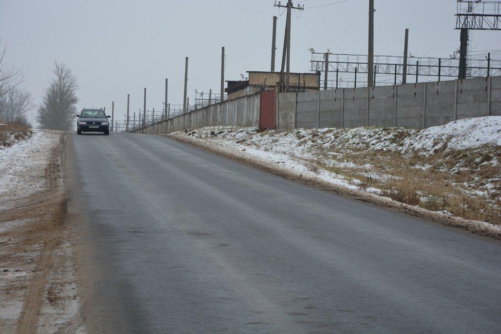 Объездная дорога от мясокомбината до ГОБК: асфальтирование второго участка