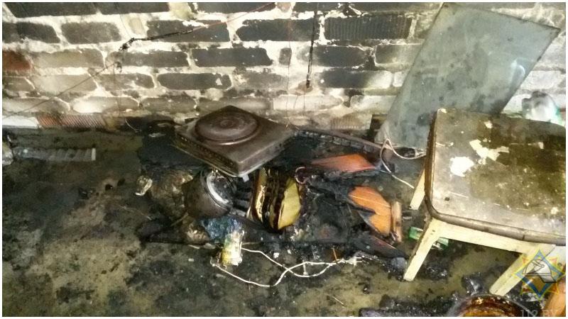 Пожар в гараже по ул.Карьерная в Бресте: погиб мужчина
