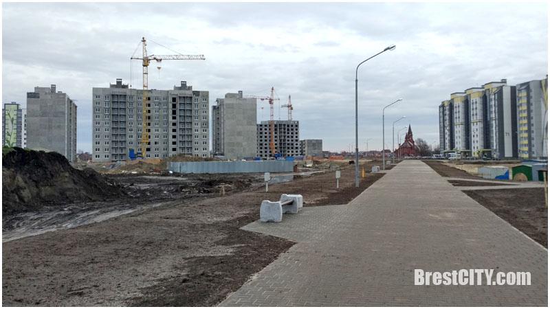 Новый микрорайон Лагуна в Бресте