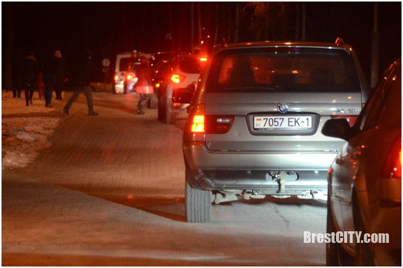 Салют в Брестской крепости 23 февраля 2018 (фото, видео)